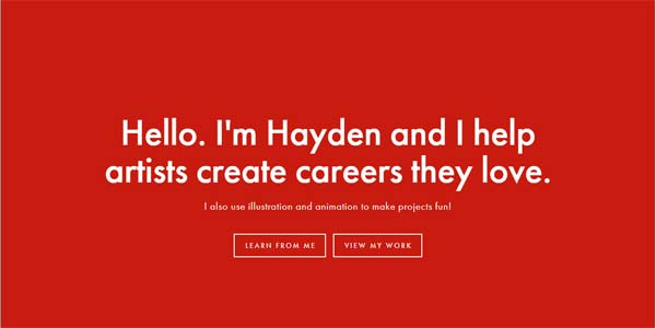 Hayden Aube Artist Classes and Resources