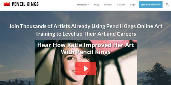 Pencil Kings Art Classes