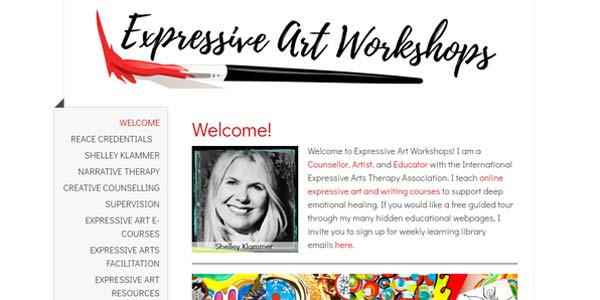 Shelley Klammer Art Workshops