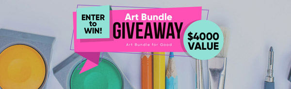 Art Giveway from the Art Bundle for Good