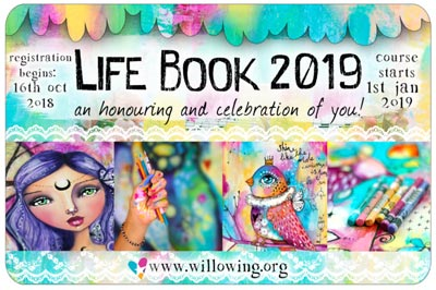LifeBook Art Course by Tam Laporte of Willowing.org