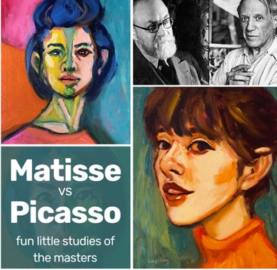 Matisse vs Picasso Course by LucyChen