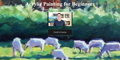 Acrylic Painting for Beginners by Malcolm Dewey