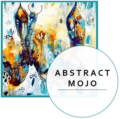 Abstract Mojo Online Art Class by Tracy Verdugo