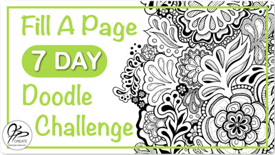 Fill a Page 7-Day Doodle Challenge by Jane Snedden Peever