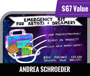 Andrea Schroeder - The Emergency Kit for Artists and Dreamers
