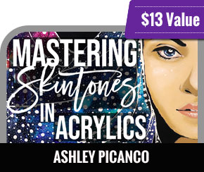 Ashley Picanco - Mastering Skintones in Acrylics