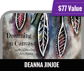 Deanna Jinjoe - Dreaming on Canvas