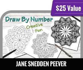 Jane Snedden Peever - Draw By Number - An Easy Way to Create Awesome Art