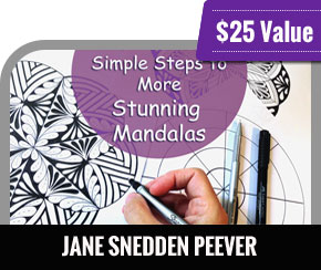 Jane Snedden Peever - Simple Steps to More Stunning Mandalas