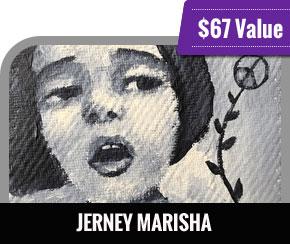Jerney Marisha - Tiny Portraits, Tiny Palette