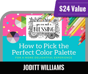 JoDitt Williams - How to Pick the Perfect Color Palette