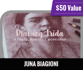 Juna Biagioni - Drawing Frida