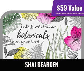 Shai Bearden - Ink and Watercolor Botanicals