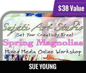Sue Young - Spring Magnolias