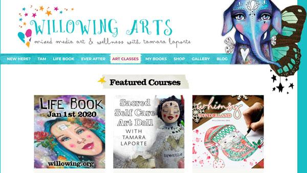 Tamara Laporte Online Art Classes