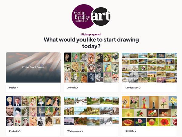 Colin Bradley Online Art Classes